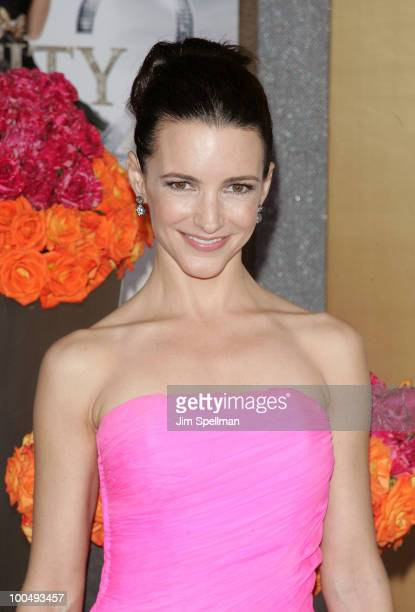Actress Kristin Davis attends the premiere of 'Sex and the City 2' at Radio City Music Hall on May 24 2010 in New York City