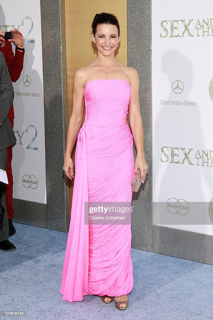 Actress Kristin Davis attends the premiere of 'Sex and the City 2' at Radio City Music Hall on May 24, 2010 in New York City.
