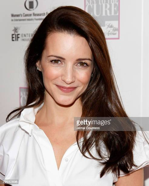 """Actress Kristin Davis on the Red carpet at the """"VIVA LA CURE"""" Benefit for EIF's Women's Cancer Research Fund hosted by SAKS Fifth Avenue at The Sea..."""