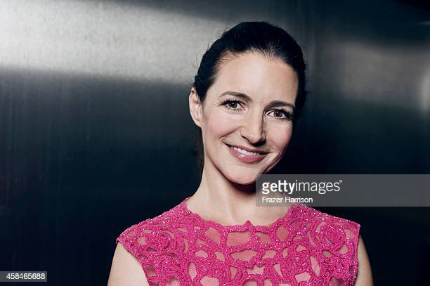 Actress Kristin Davis poses for a portrait at the amfAR LA Inspiration Gala on October 29 2014 in Los Angeles California