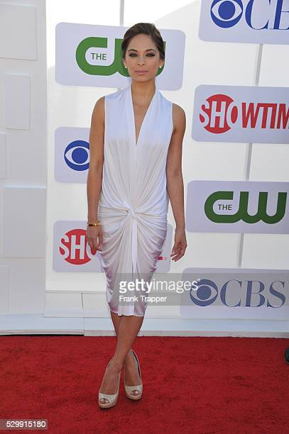Actress Kristin Kreuk arrives at the CW CBS and Showtime 2012 Summer TCA party held at the Beverly Hilton Hotel