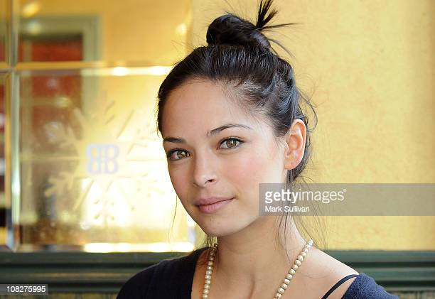 Actress Kristin Kreuk attends Baileys Warming Hut at House of Hype LIVEstyle Lounge on January 23 2011 in Park City Utah