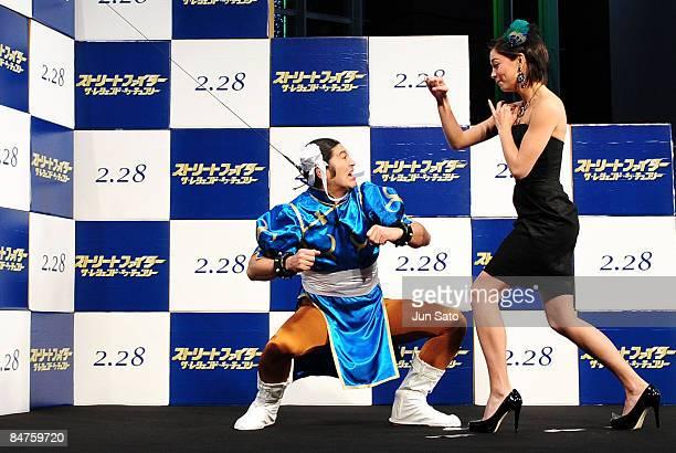 52 The Legend Of Chun Li Japan Premiere Photos And Premium High