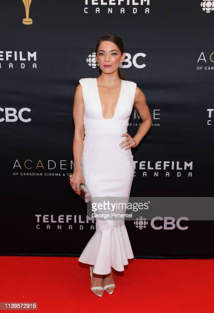 Actress Kristin Kreuk attends the 2019 Canadian Screen Awards Broadcast Gala at Sony Centre for the Performing Arts on March 31 2019 in Toronto Canada