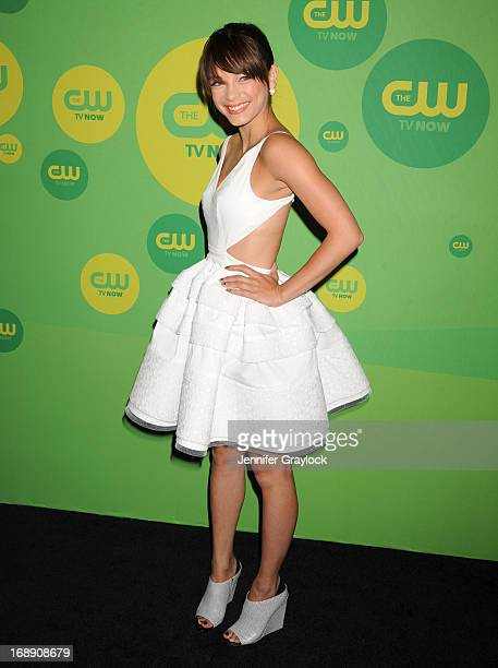 Actress Kristin Kreuk attends The CW Network's New York 2013 Upfront Presentation at The London Hotel on May 16 2013 in New York City