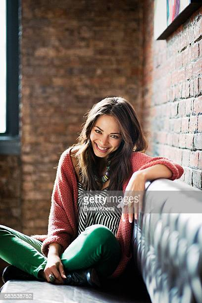 Actress Kristin Kreuk is photographed for Chatelaine Magazine on November 1 2011 in Vancouver British Columbia