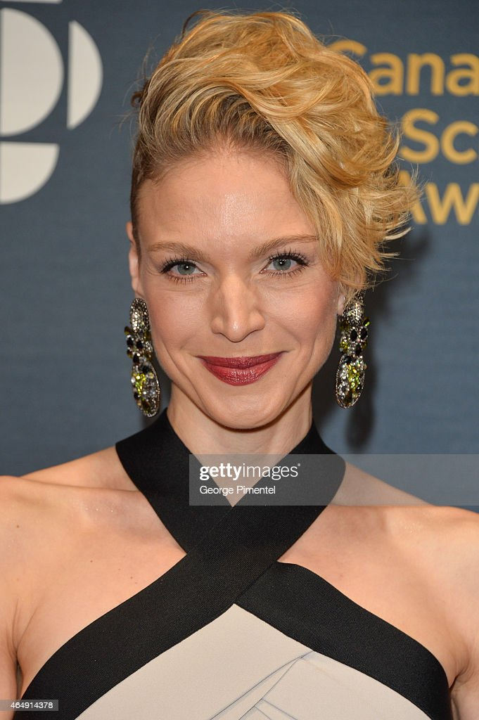 Actress Kristin Lehman arrives at the 2015 Canadian Screen Awards at the Four Seasons Centre for the Performing Arts on March 1, 2015 in Toronto, Canada.