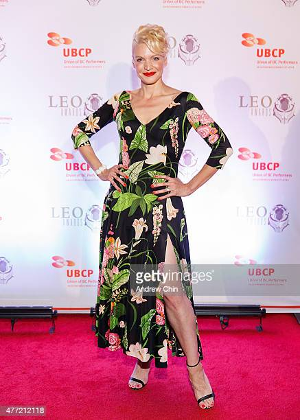 Actress Kristin Lehman attends the 2015 Leo Awards Gala Awards Ceremony at Fairmont Hotel Vancouver on June 14 2015 in Vancouver Canada
