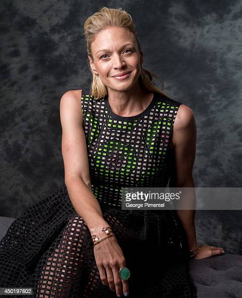 Actress Kristin Lehman of Motive poses for a portrait during CTV 2014 Upfront at Sony Centre for the Performing Arts on June 5 2014 in Toronto Canada