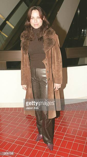 Actress Kristin Minter arrives at the premiere of 'The Claim' December 7 2000 at the Pacific Design Center in West Hollywood CA