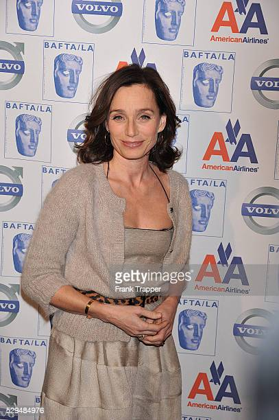 Actress Kristin Scott Thomas arrives at BAFTA/LA 15th Annual Awards Season Tea Party held at the Beverly Hills Hotel in Beverly Hills