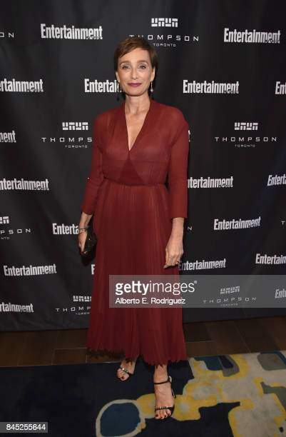 Actress Kristin Scott Thomas attends Entertainment Weekly's Must List Party during the Toronto International Film Festival 2017 at the Thompson Hotel...
