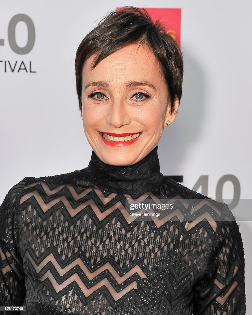 Actress Kristin Scott Thomas from the film 'Darkest Hour' attends the 40th Annual Mill Valley Film Festival at The Outdoor Art Club on October 5, 2017 in Mill Valley, California.