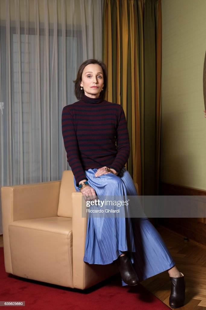 Actress Kristin Scott Thomas is photographed for Self Assignment on February 11, 2017 in Berlin, Germany.