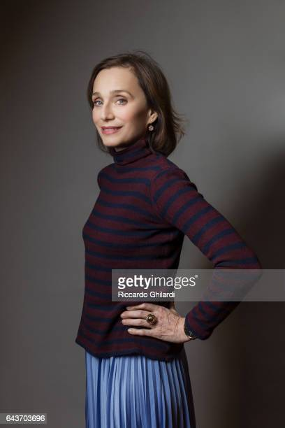 Actress Kristin Scott Thomas is photographed for Self Assignment on February 14 2017 in Berlin Germany