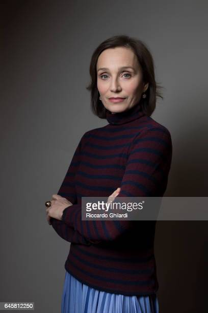 Actress Kristin Scott Thomas is photographed for Self Assignment on February 11 2017 in Berlin Germany