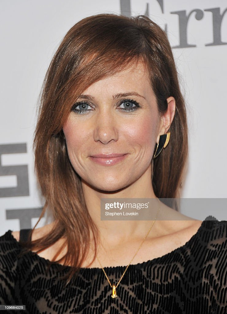 Actress Kristin Wiig attends the Museum of the Moving Image salute to Alec Baldwin at Cipriani 42nd Street on February 28, 2011 in New York City.