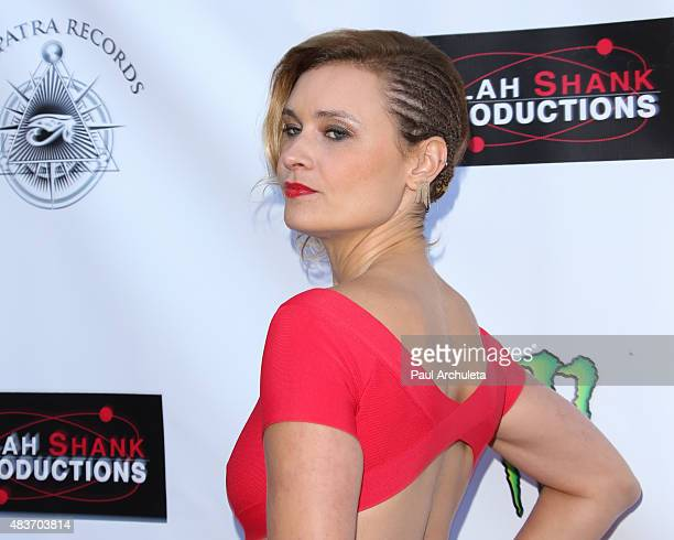 Actress Kristina Klebe attends the premiere of 'Alleluia The Devil's Carnival' at the Egyptian Theatre on August 11 2015 in Hollywood California
