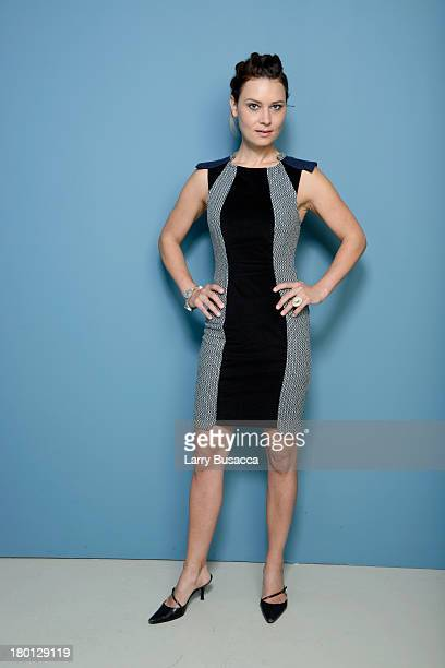 Actress Kristina Klebe of 'Proxy' poses at the Guess Portrait Studio during 2013 Toronto International Film Festival on September 9 2013 in Toronto...
