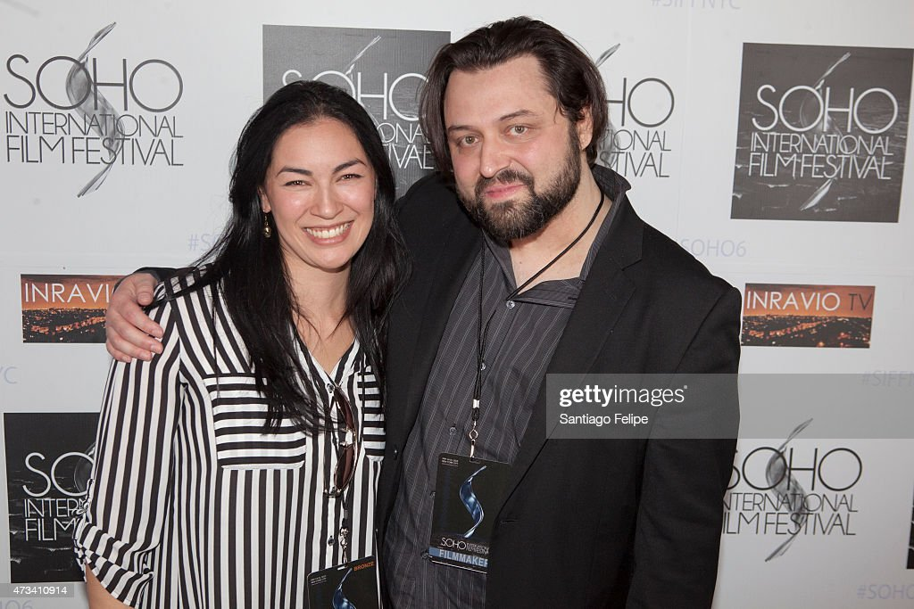 Actress Kristina Lao and Director Anthony deLioncourt attend SOHO International Film Festival 2015 at Village East Cinema on May 14, 2015 in New York City.