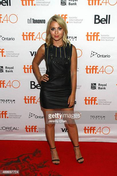 Actress Kristina Pesic attends the Southbound photo call during the 2015 Toronto International Film Festival at Ryerson Theatre on September 16 2015...
