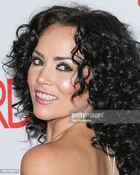 Actress Kristina Rose attends the 2017 AVN Awards nomination party at Avalon on November 17 2016 in Hollywood California