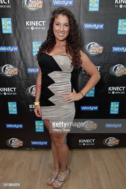 Actress Kristina Santa attends the Xbox NBA Baller Beats VMA Lounge Presented By Velodyne For VH1 Save The Music Foundation at The RitzCarlton...