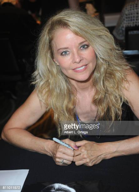 Actress Kristina Wagner signs autographs at The Hollywood Show held at Westin LAX Hotel on July 8 2017 in Los Angeles California