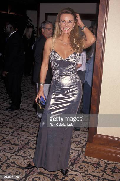 Actress Kristina Wayborn attends 14th Annual Golden Boot Awards on August 17 1996 at the Century Plaza Hotel in Century City California