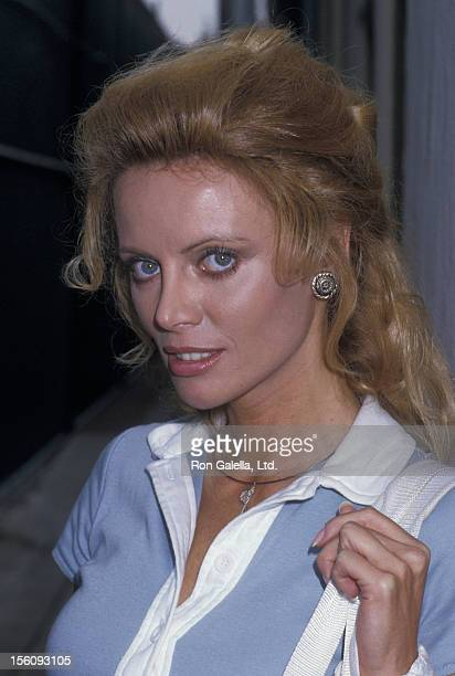 Actress Kristina Wayborn attends Hollywood 100 ProCelebrity Tennis Classic on June 6 1987 at the Los Angeles Tennis Club in Los Angeles California