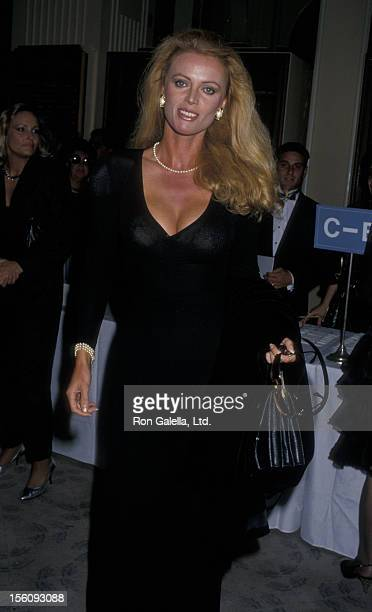 Actress Kristina Wayborn attends Salute to Hollywood Gala Benefiting Cerebral Palsy Association on September 18 1987 at the Beverly Hilton Hotel in...