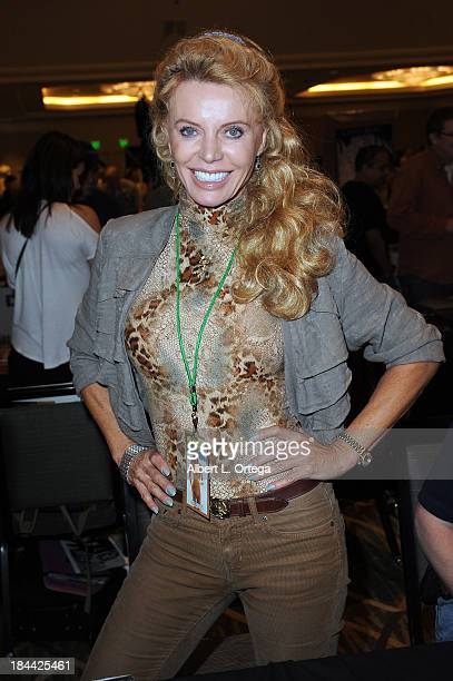 Actress Kristina Wayborn attends The Hollywood Show held at The Westin Los Angeles Airport Hotel on Saturday October 5 2013 in Los Angeles California