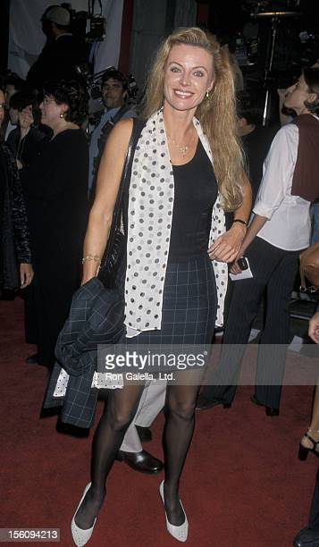 Actress Kristina Wayborn attends the opening of American Film Institute International Film Festival on October 22 1998 at Mann Chinese Theater in...