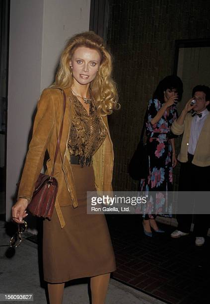 Actress Kristina Wayborn attends the premiere of 'Cracked Up' on May 18 1987 at the Writer's Guild Theater in Beverly Hills California