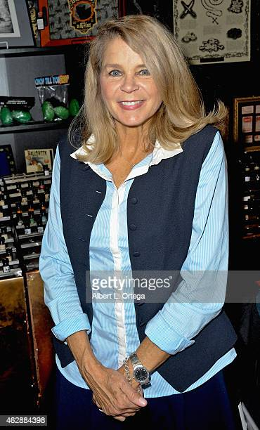 Actress Kristine DeBell at the Second Annual David DeCoteau's Day Of The Scream Queens held at Dark Delicacies Bookstore on January 25, 2015 in...