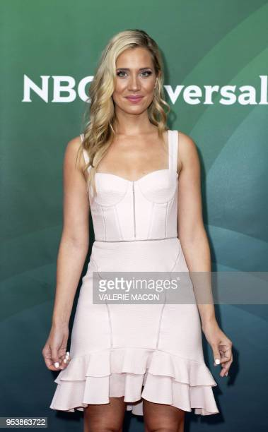 Actress Kristine Leahy attends the NBC Summer Press Day at Universal Studio on May 2 in Universal City California