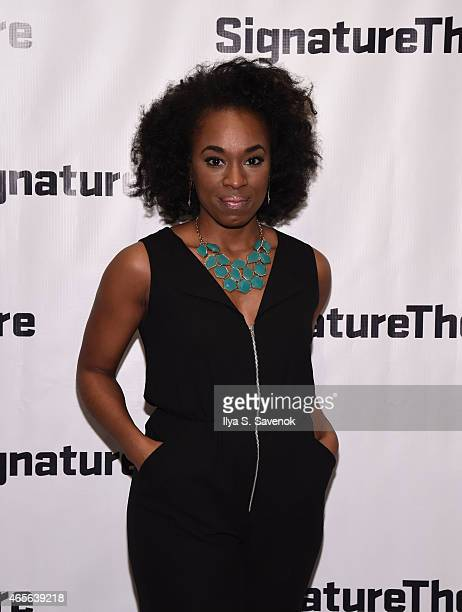 Actress Kristolyn Lloyd attends 'The Liquid Plane' Opening Night Party at Signature Theatre Company's The Pershing Square Signature Center on March 8...