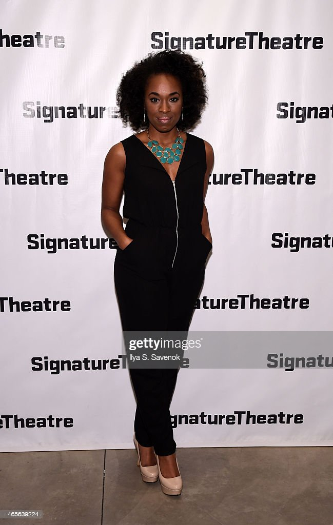 Actress Kristolyn Lloyd attends 'The Liquid Plane' Opening Night Party at Signature Theatre Company's The Pershing Square Signature Center on March 8, 2015 in New York City.