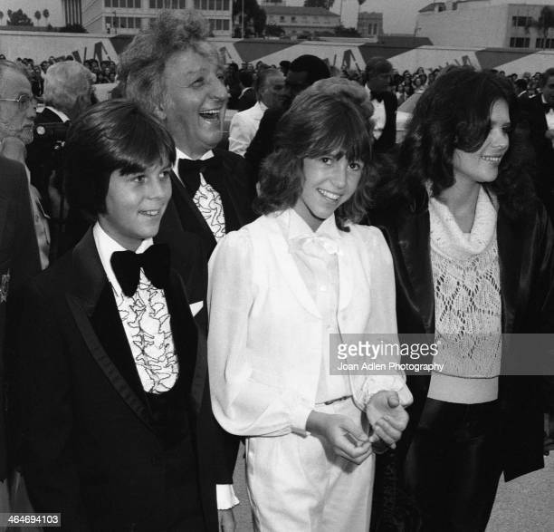 Actress Kristy McNichol and family attend the 30th Annual Emmy Awards on September 17 1978 at the Pasadena Civic Auditorium in Pasadena California