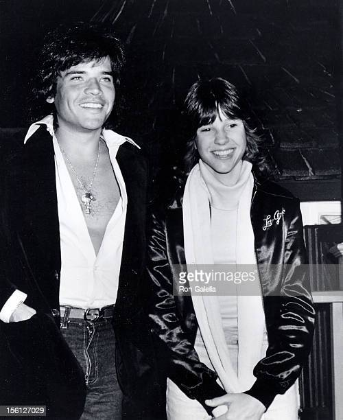 Actress Kristy McNichol and Michael Grey attending 'Easter Seal Telethon Party' on March 19 1978 at El Brivado Club in Beverly Hills California