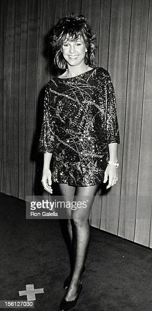 Actress Kristy McNichol attending 43rd Annual Golden Globe Awards on January 24 1986 at the Beverly Hilton Hotel in Beverly Hills California