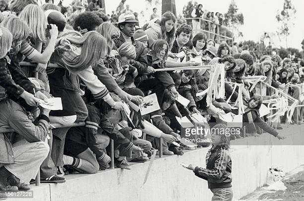 Actress Kristy McNichol attending First Annual Rock and Roll Sports Classic on March 11 1978 at the University of California in Los Angeles California