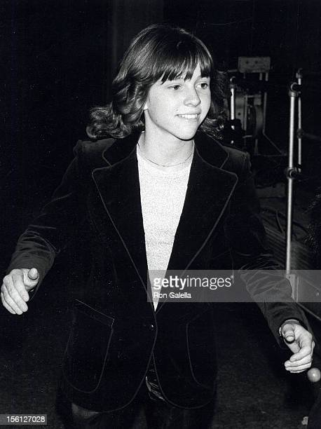 Actress Kristy McNichol attending 'Lilly Tomlin Opening' on January 31, 1978 at the Huntington Hartford Theater in Los Angeles, California.