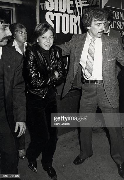 Actress Kristy McNichol attending the performance of 'The Elephant Man' on October 22, 1980 at the Booth Theater in New York City, New York.