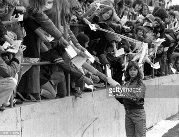 Actress Kristy McNichol attends First Annual Rock and Roll Sports Classic on March 1978 at the University of California in Irvine California