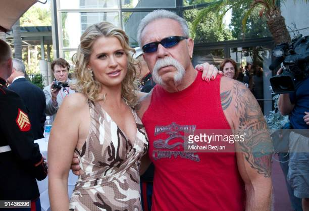 "Actress Kristy Swanson and Paul Teutel arrive at ""A Night of Honour"" Hosted By Dr. Phil McGraw at Universal Hilton Hotel on October 4, 2009 in..."