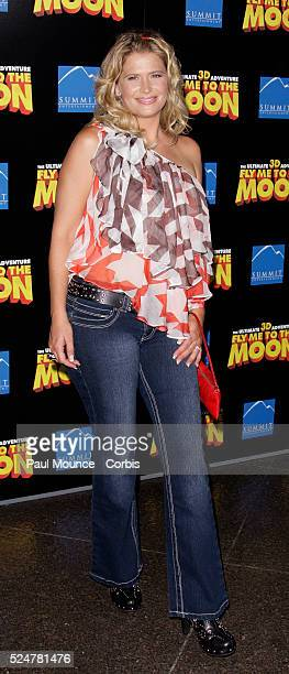 Actress Kristy Swanson arrives at the Los Angeles premiere of the film Fly Me To The Moon held at the Directors Guild of America