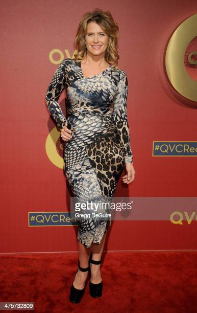 Actress Kristy Swanson arrives at the QVC 5th Annual Red Carpet Style event at The Four Seasons Hotel on February 28, 2014 in Beverly Hills,...