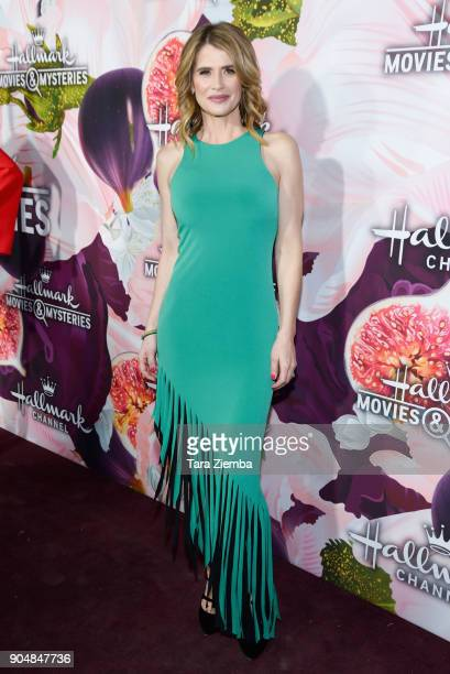Actress Kristy Swanson attends Hallmark Channel and Hallmark Movies and Mysteries Winter 2018 TCA Press Tour at Tournament House on January 13, 2018...