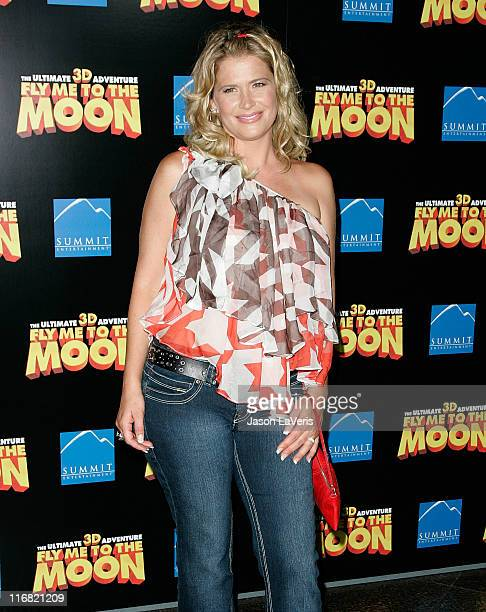 "Actress Kristy Swanson attends the Los Angeles premiere of ""Fly Me to the Moon"" at the DGA Theater on August 3, 2008 in Los Angeles, California."